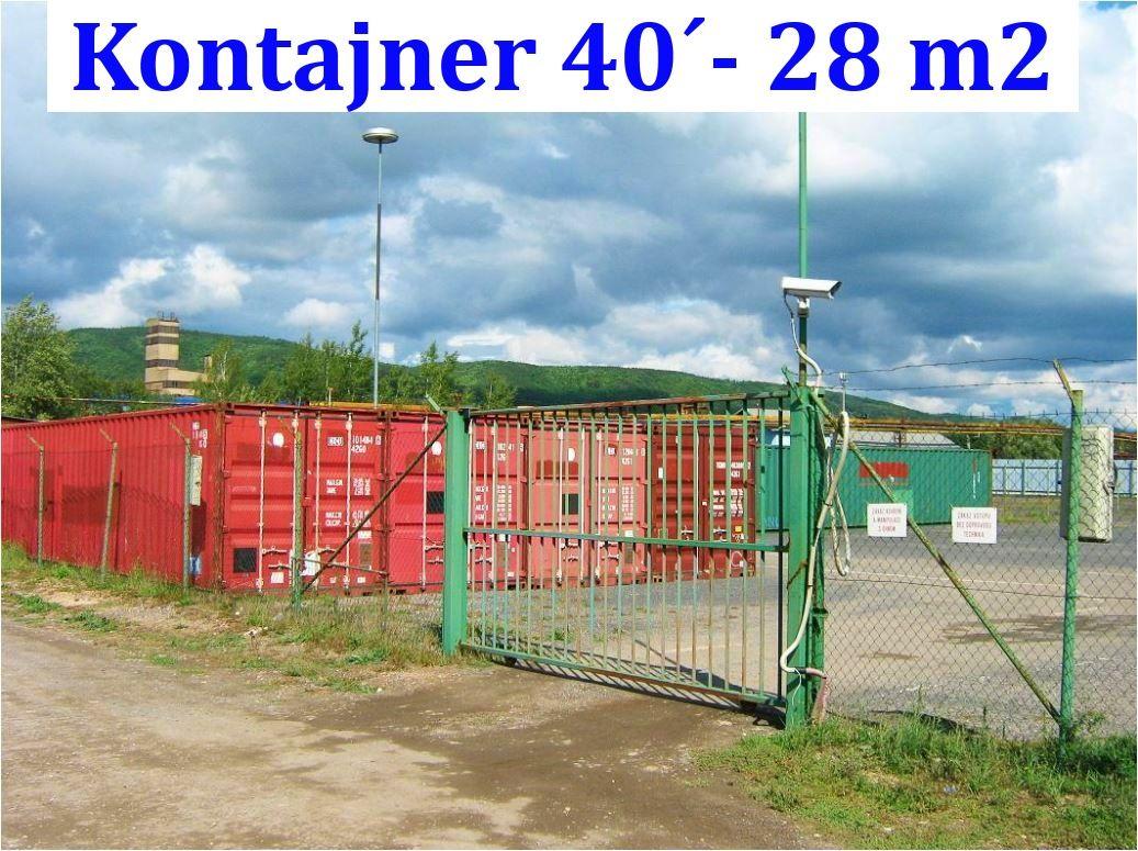 Nájem skladu 2x  28 m2, přízemí - Králův Dvůr u Berouna