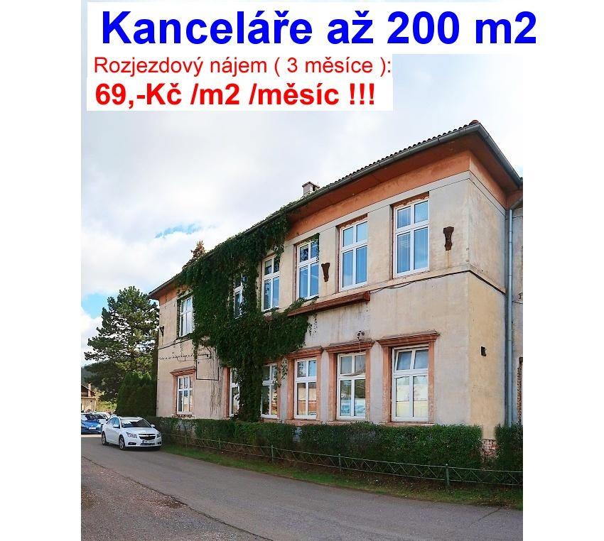 Nájem KANCELÁŘÍ 25 až 190 m2, Králův Dvůr - Beroun, D5