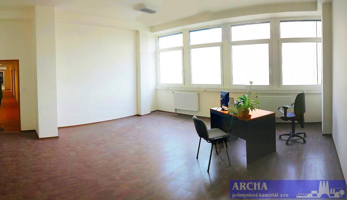 KANCELÁŘE 36 m2 až 230 m2 ( po částech ! ),   P10 Hostivař,