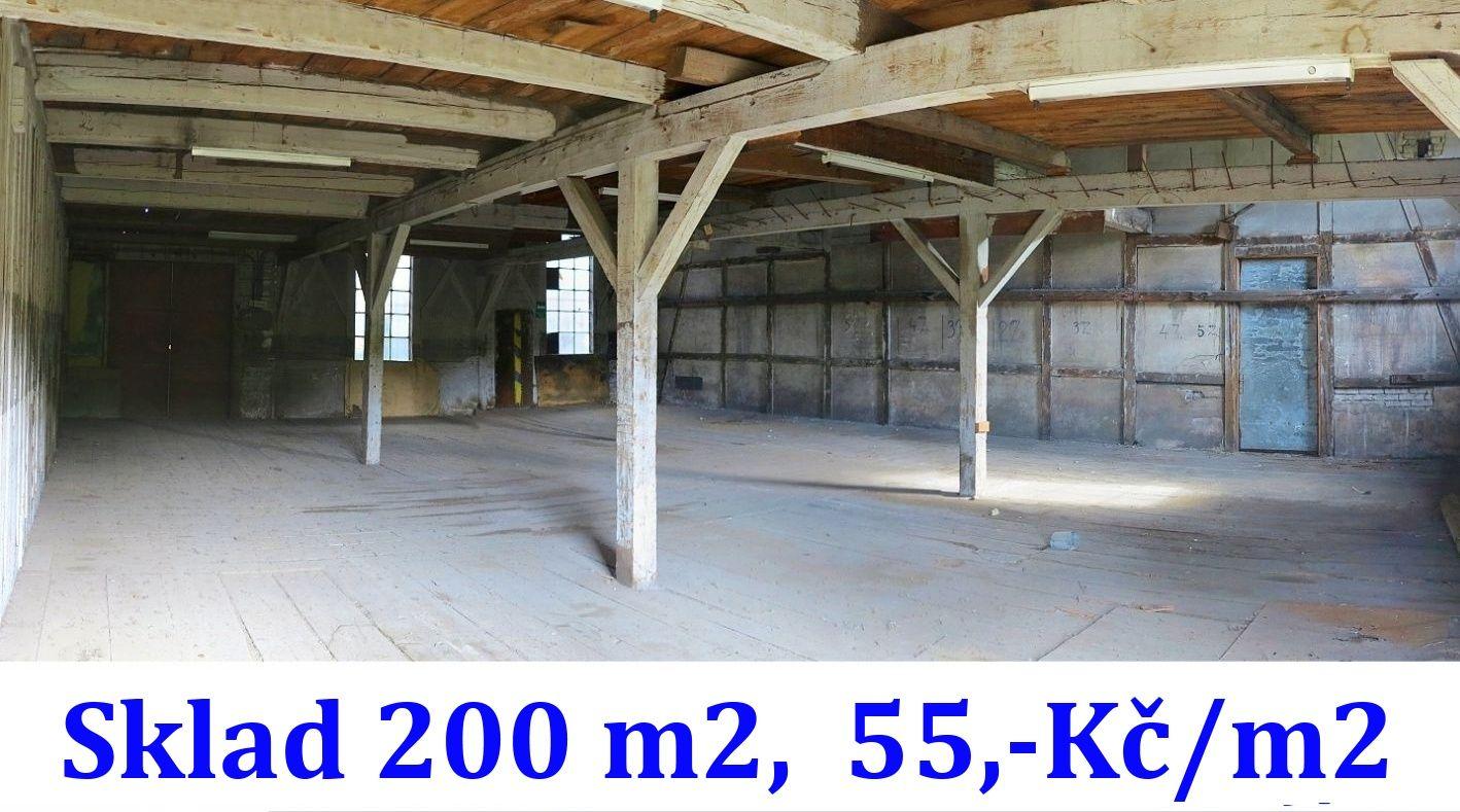 Nájem haly 200 m2, Králův Dvůr - Beroun, D5