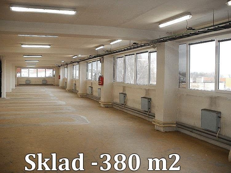 Sklad 380 m2, Praha 9  Horní Počernice