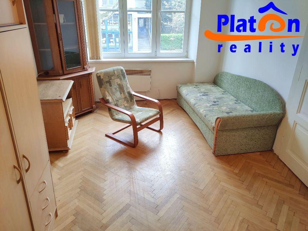 Pronájem bytu 1+1+L, Ústí nad Labem  Klíše, ul. Palachova, 1.patro