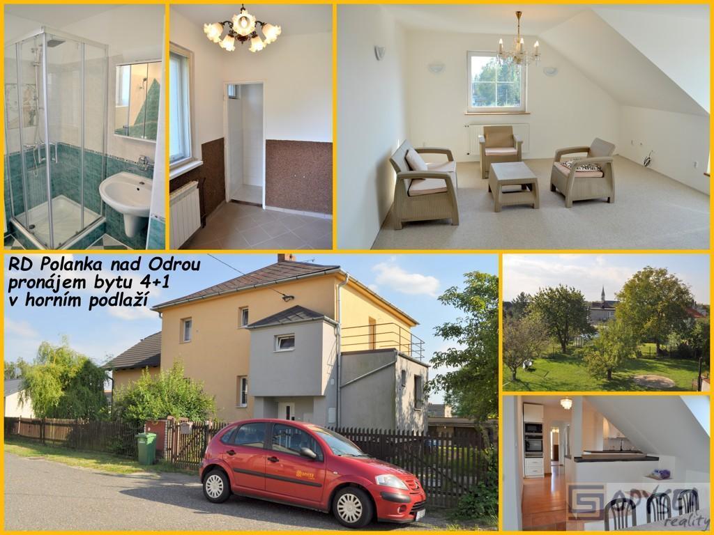 Pronájem bytu 4+1 v rodinném domě v Ostravě - Polance nad Odrou