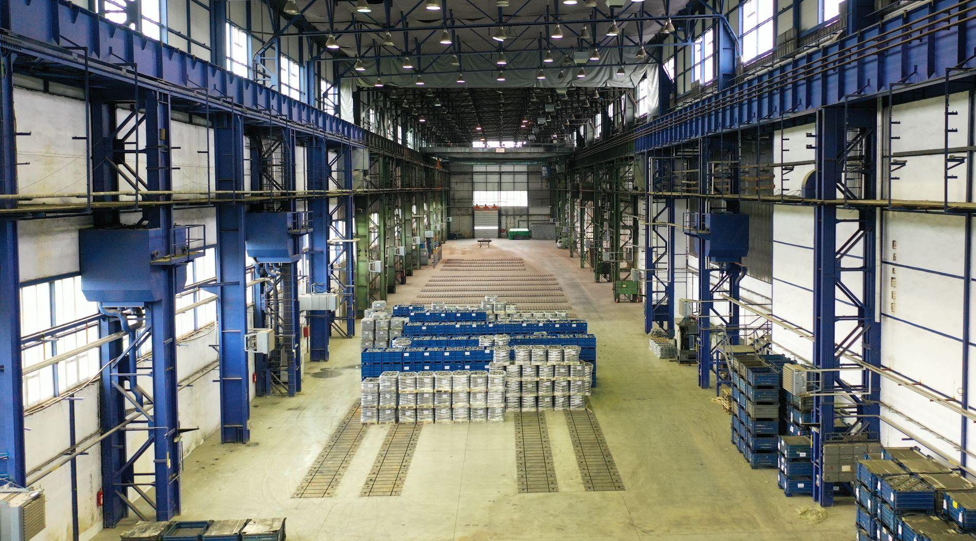 Pronájem skladové (výrobní) haly