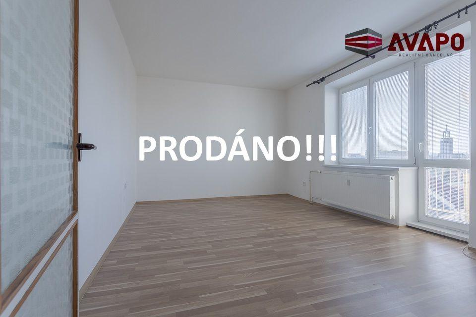 PRODÁNO !!! Prodej bytu 2+1 s balkonem ul. nám. Republiky, Opava
