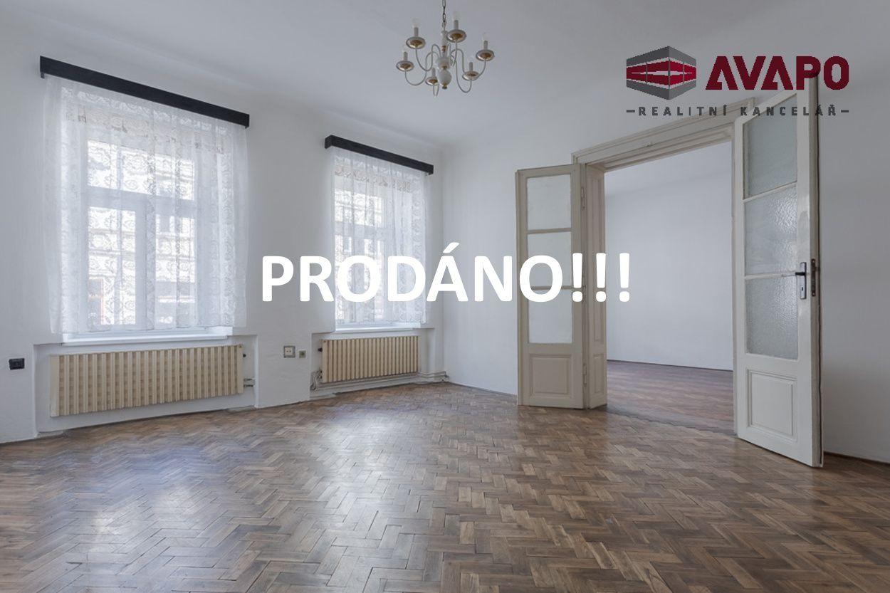 PRODÁNO !! Prodej bytu 3+1 se zahradou ul. Olomoucká, Opava