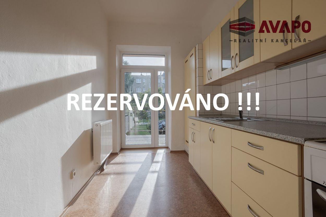 REZERVACE!! Pronájem bytu 2+1 s balkónem a zahradou, ul. Mánesova Opava