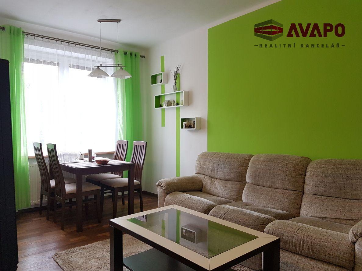 Pronájem bytu 3+KK s balkónem a zahradou ul. Opavská, Hradec nad Moravicí