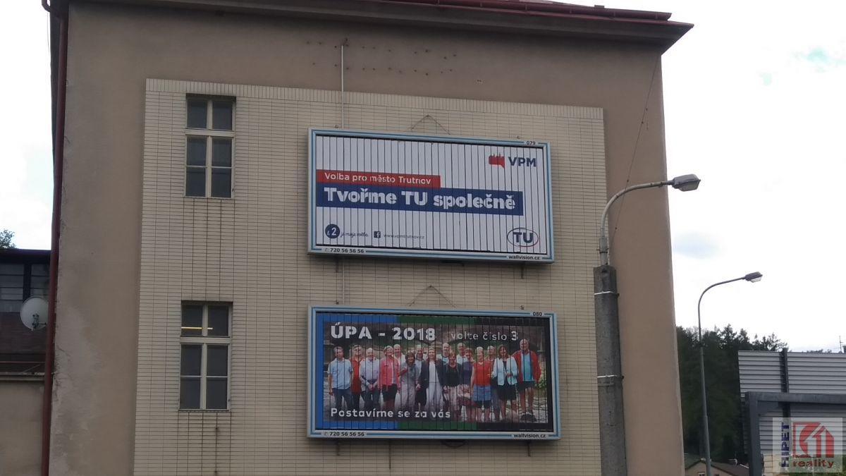 Nabídka pronájmu reklamní plochy v Trutnově
