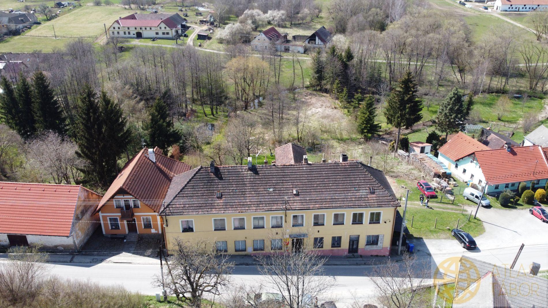 Prodej bytového domu  v obci Rychnov u Nových Hradů