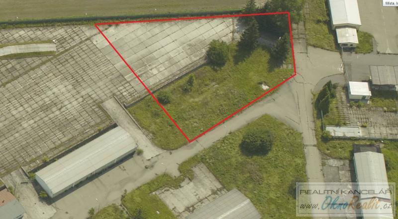 Prodej stavebního pozemku 3500 m2 , Přerov  - obr.