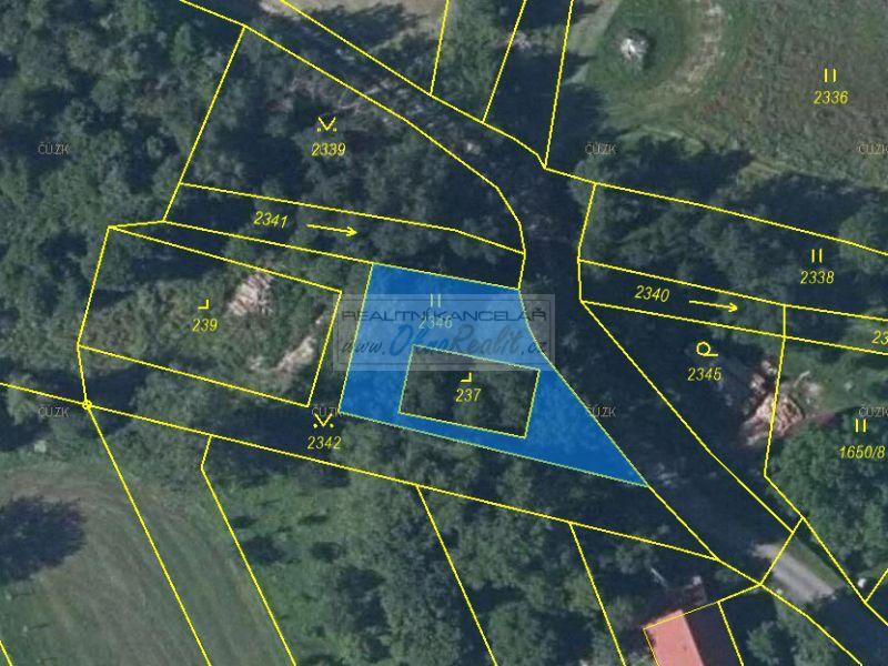 Prodej dvou pozemků v obci Budišov nad Budišovkou, okr. Opava