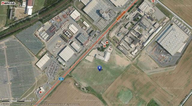 Prodej pozemků v průmyslové zóně Napajedla