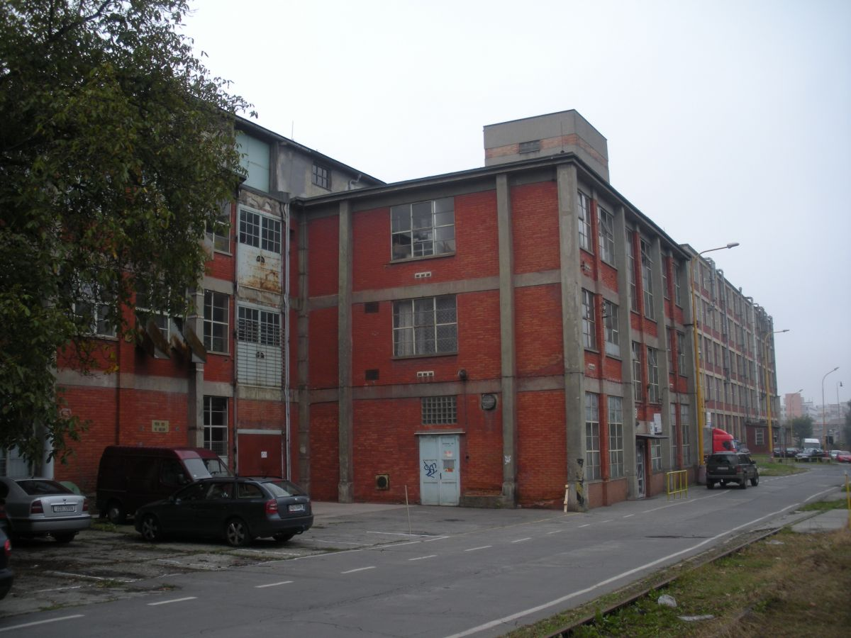 Pronájem skladu v centru Zlína