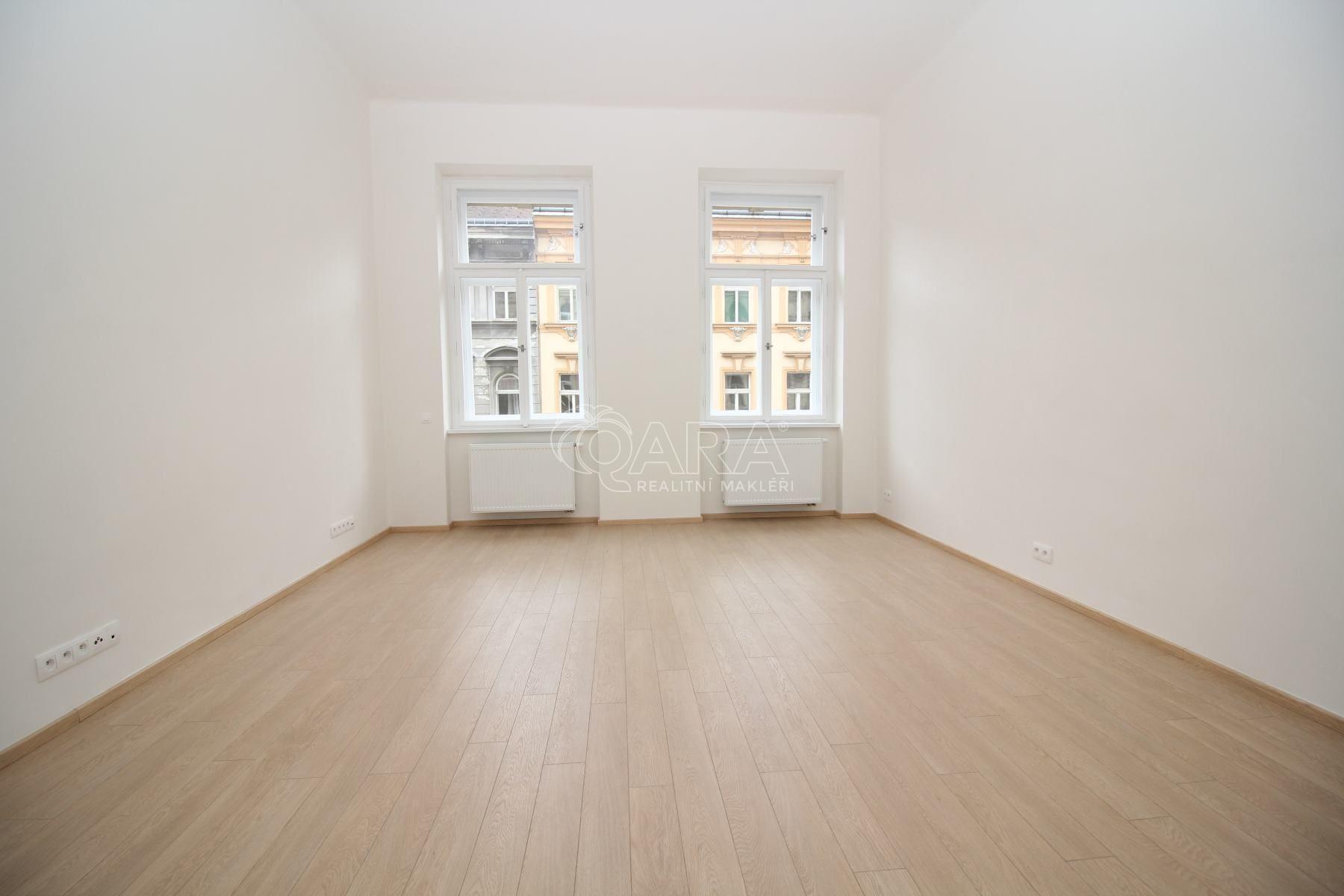 Pronájem bytu 1+1, 49 m2, balkon, Praha 5 - Smíchov, ulice Lidická