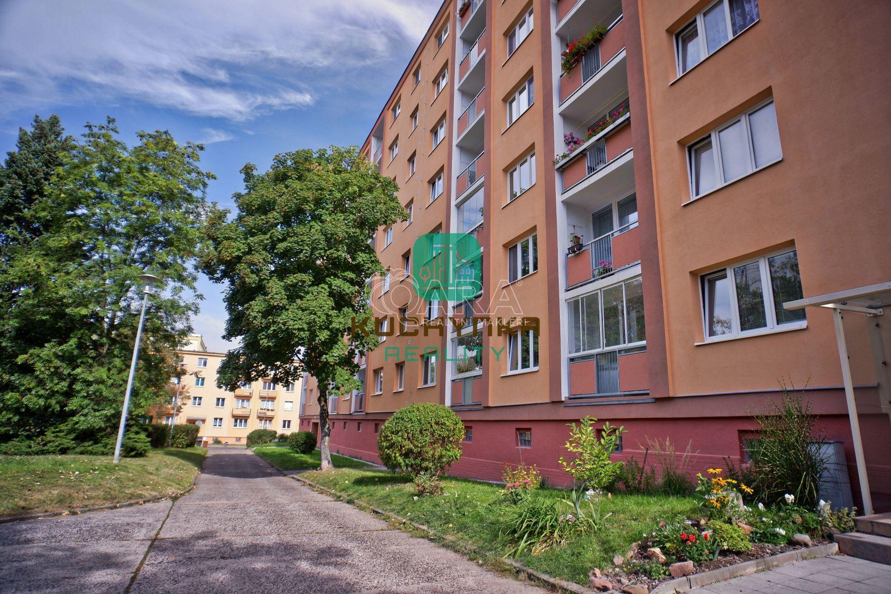 Podnájem bytu 2+1, 52,80 m2, Zrenjaninská, Teplice