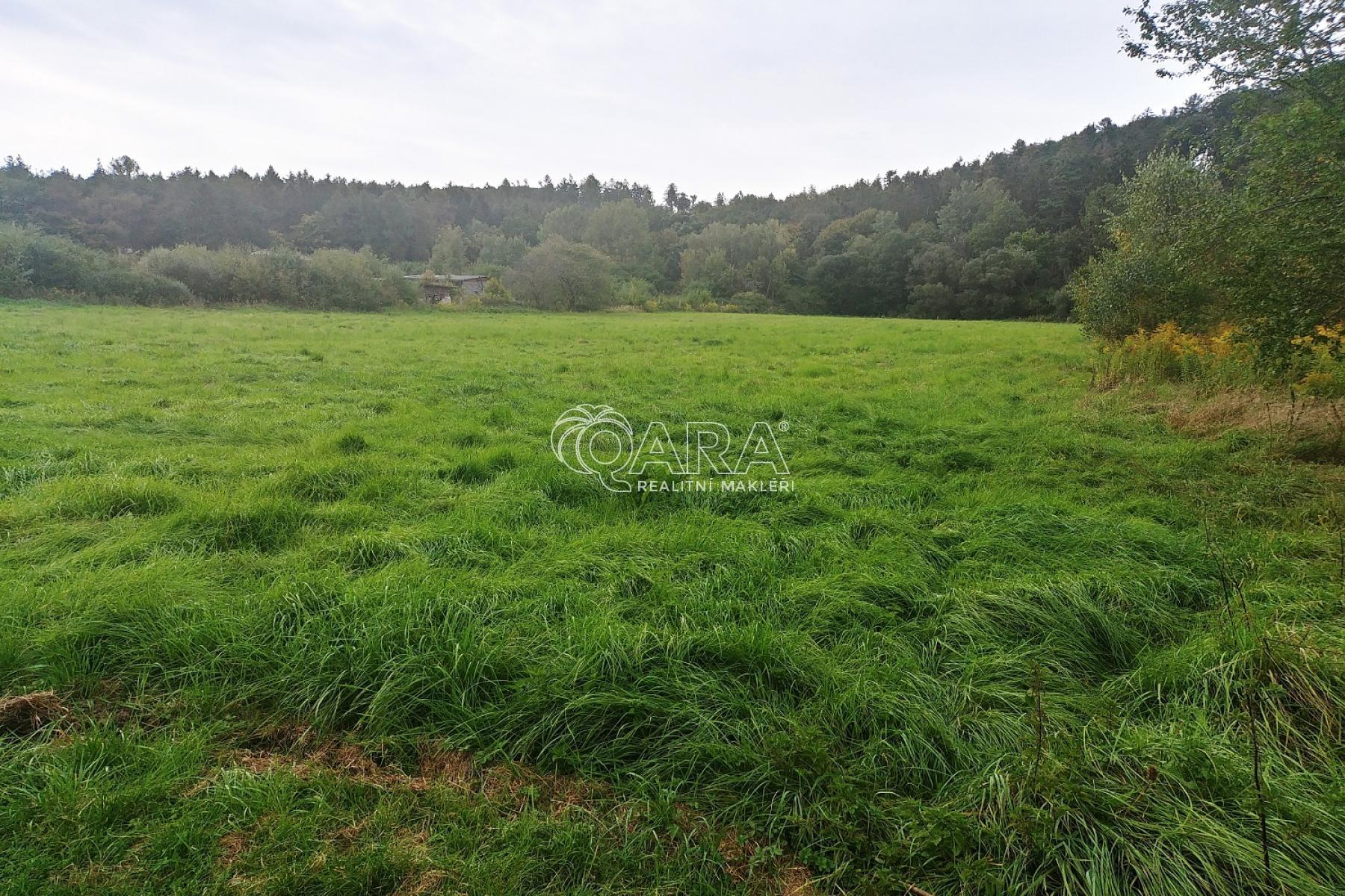Prodej stavebního pozemku 1.255 m2, Babice u Řehenic část Dařbož, el.
