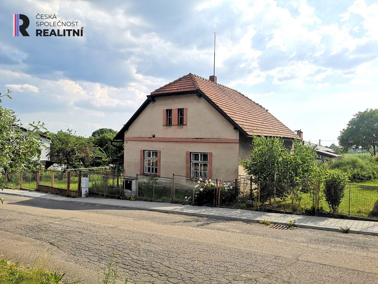 Prodej rodinného domu v obci Skalice