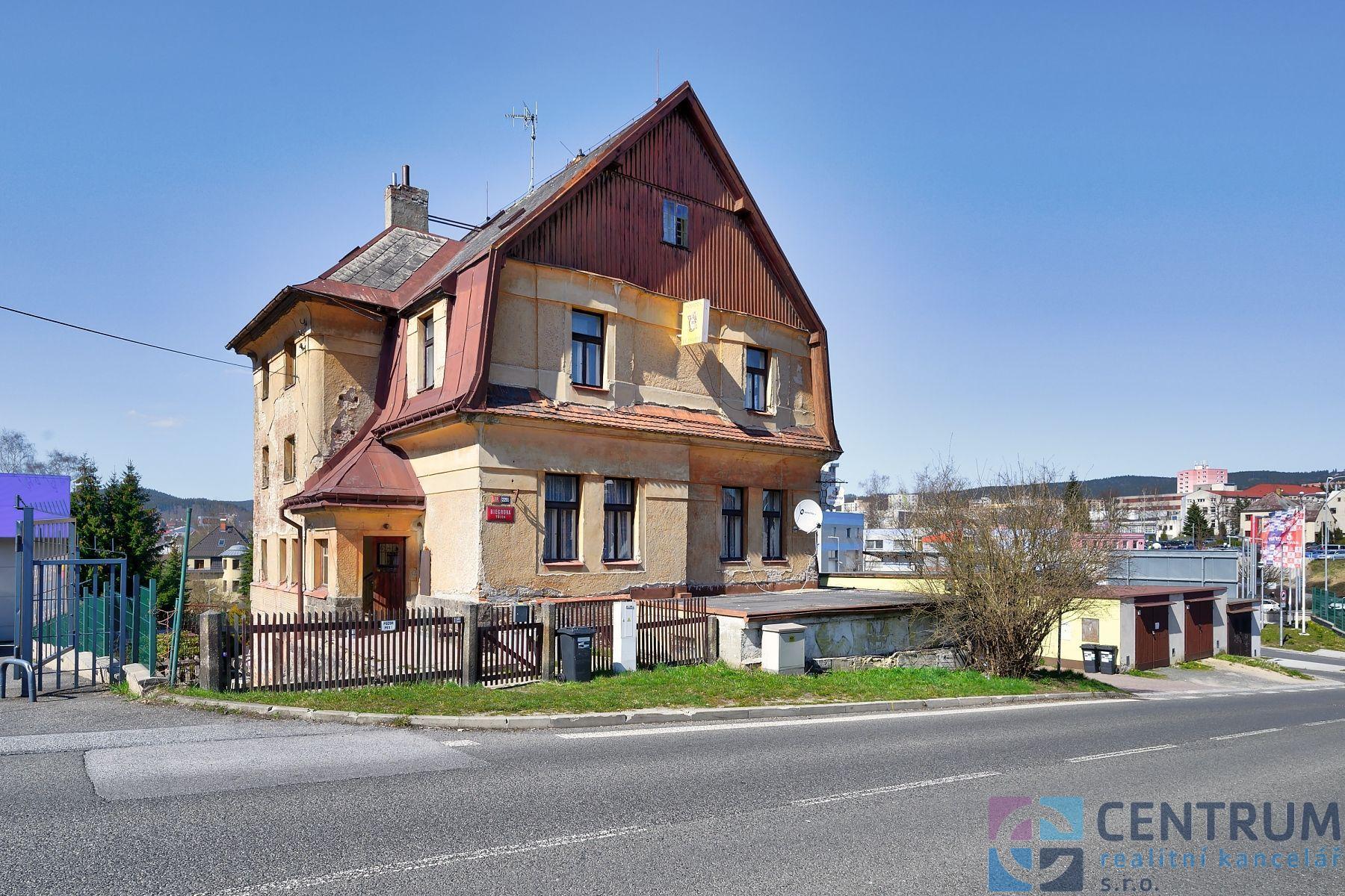Dům v Jablonci nad Nisou, Riegrova ul.