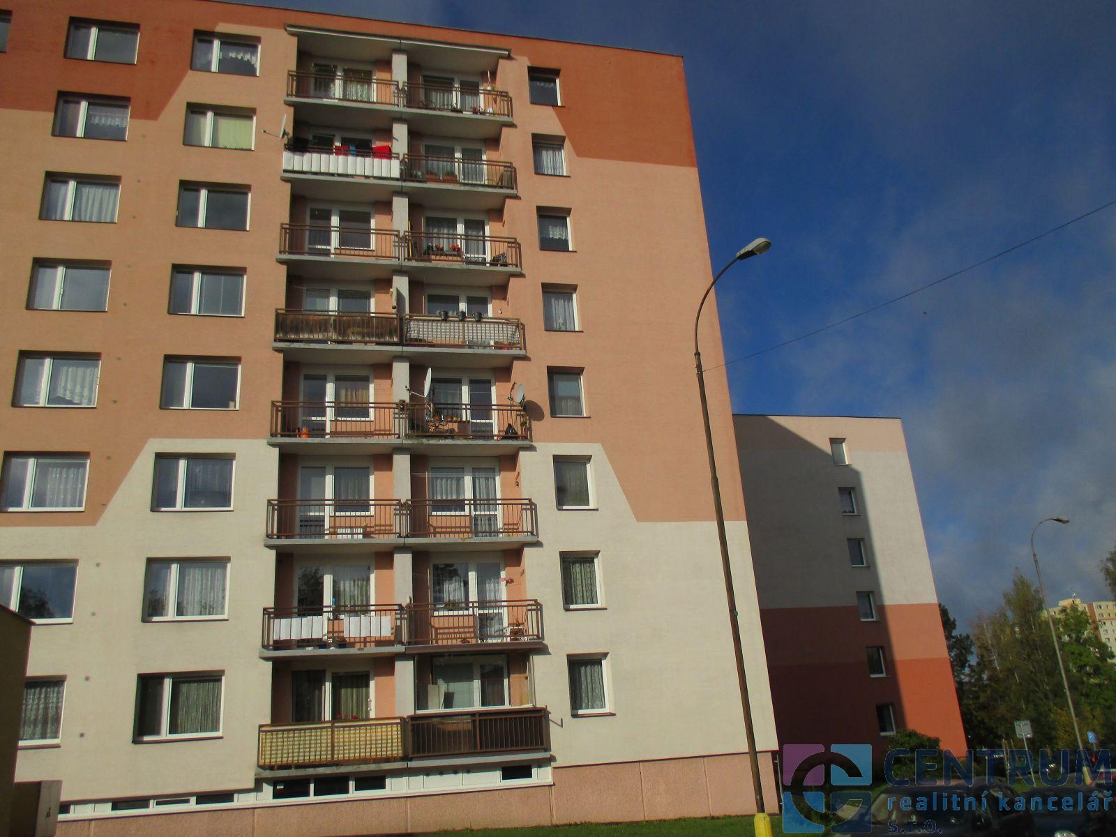 Pronájem bytu 1+1/L, ul. Nová Pasířská, Jablonec nad Nisou.