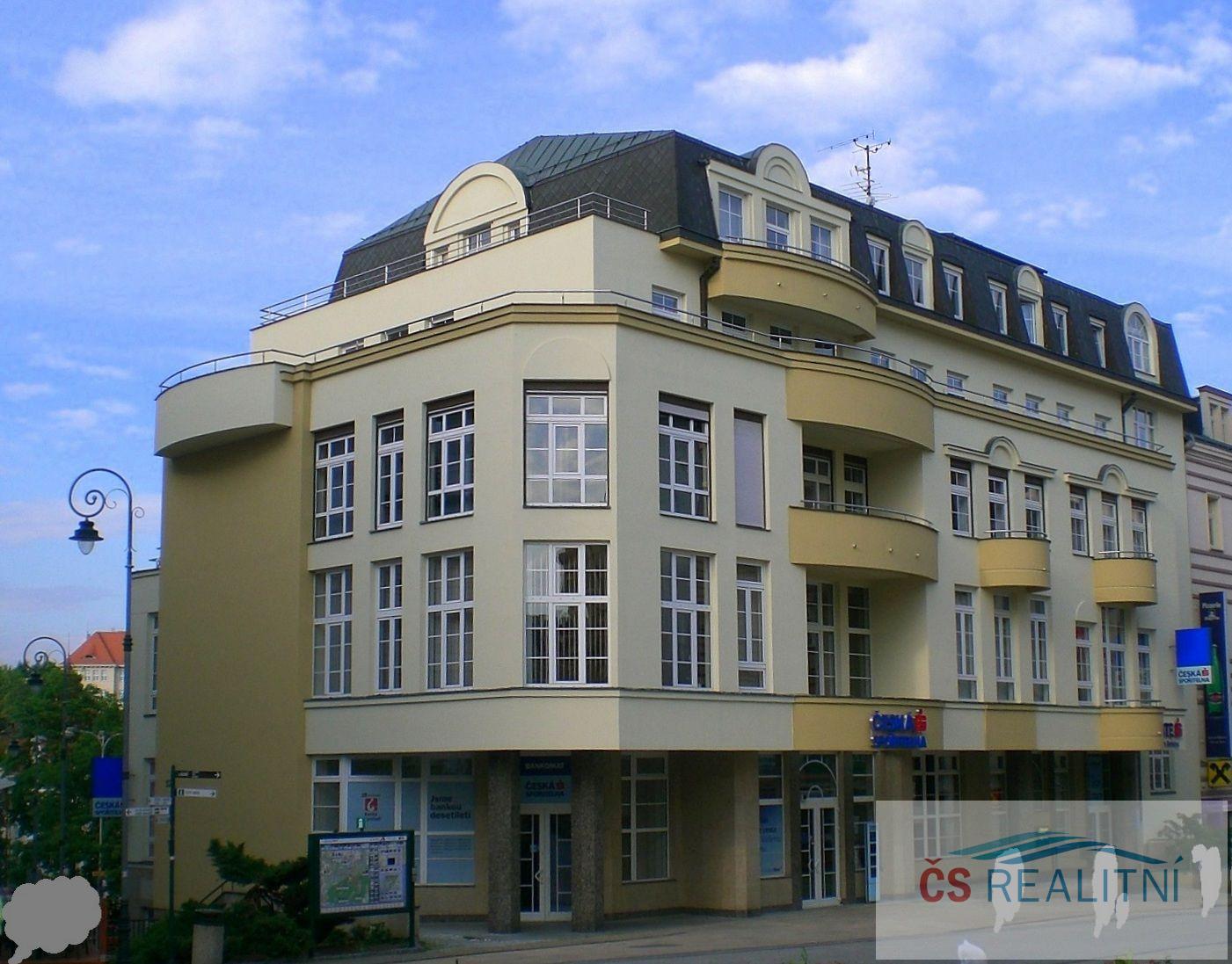 Pronájem, Komerční prostory kancelářské, 47m2, Karlovy Vary