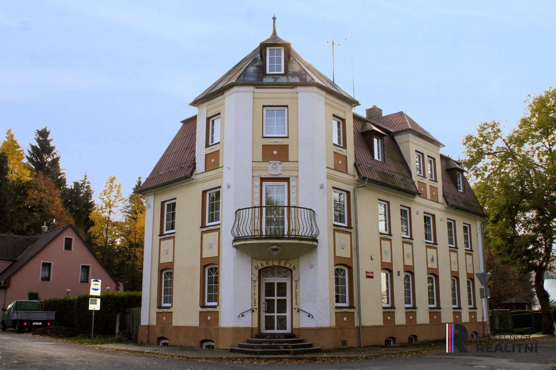 Prodej hotelu Harlekin Vejprty