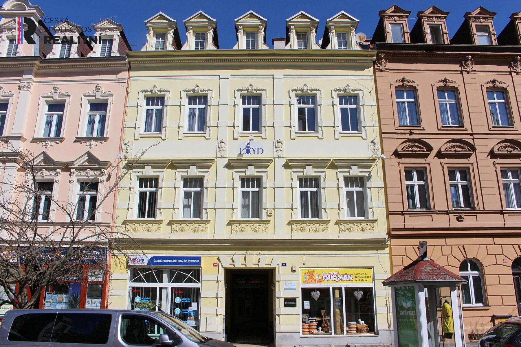 Pronájem nebytového prostoru ul. Moskevská, Karlovy Vary