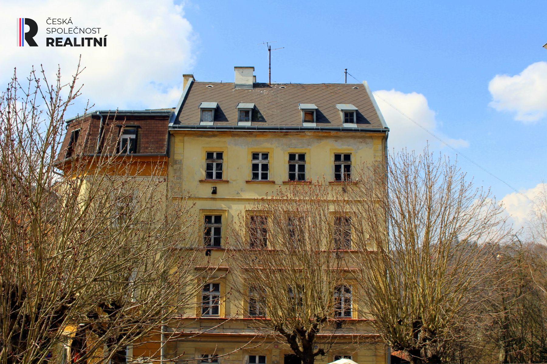 Prodej bytového domu Na Vyhlídce Karlovy Vary