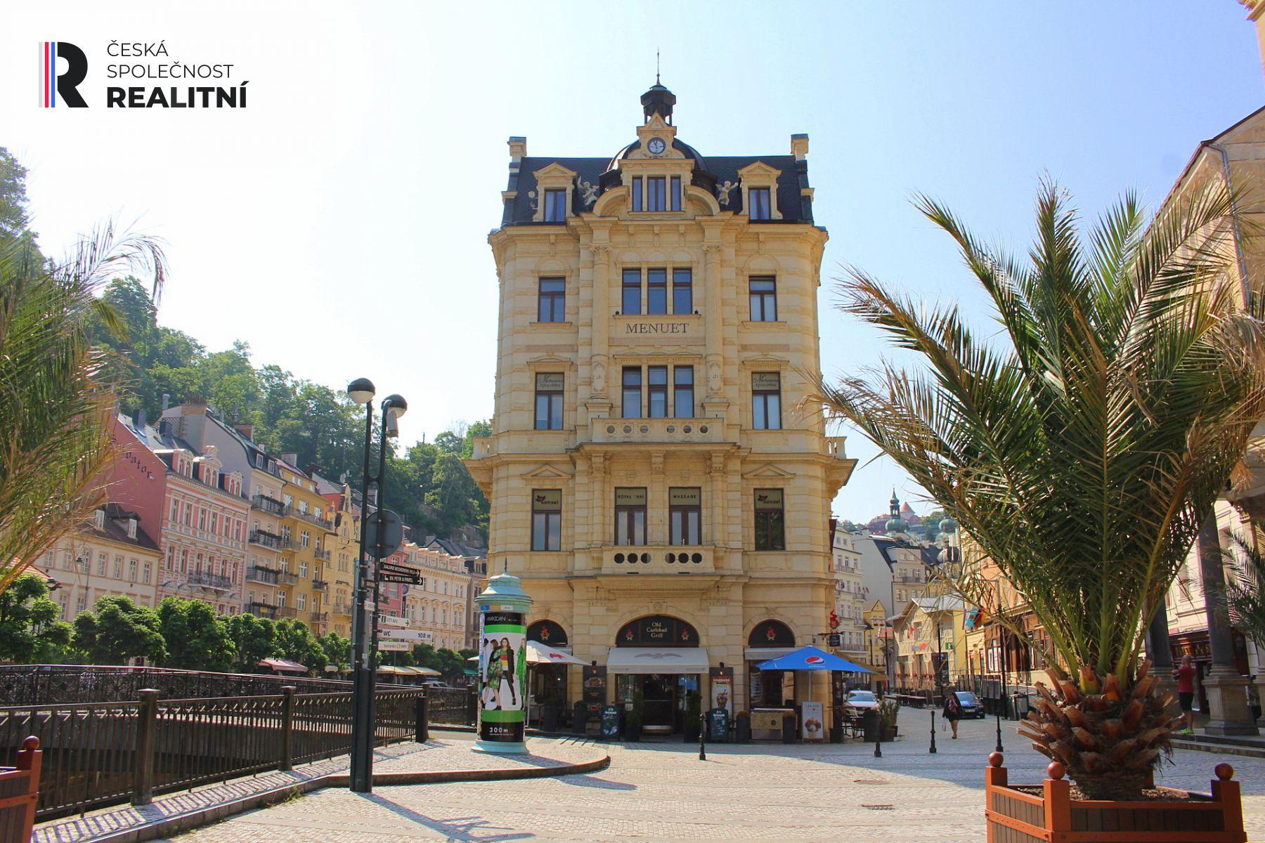 Pronájem obchodního prostoru Lázeňská ul. Karlovy Vary