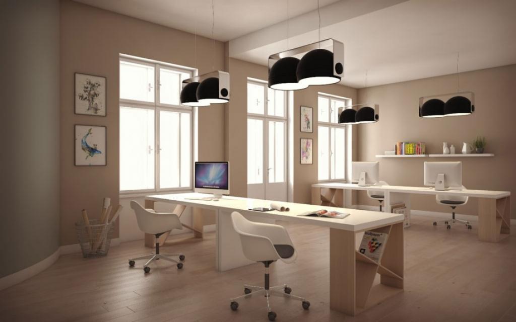 Reprezentativní prostor pro kanceláře v centru Prahy s recepcí