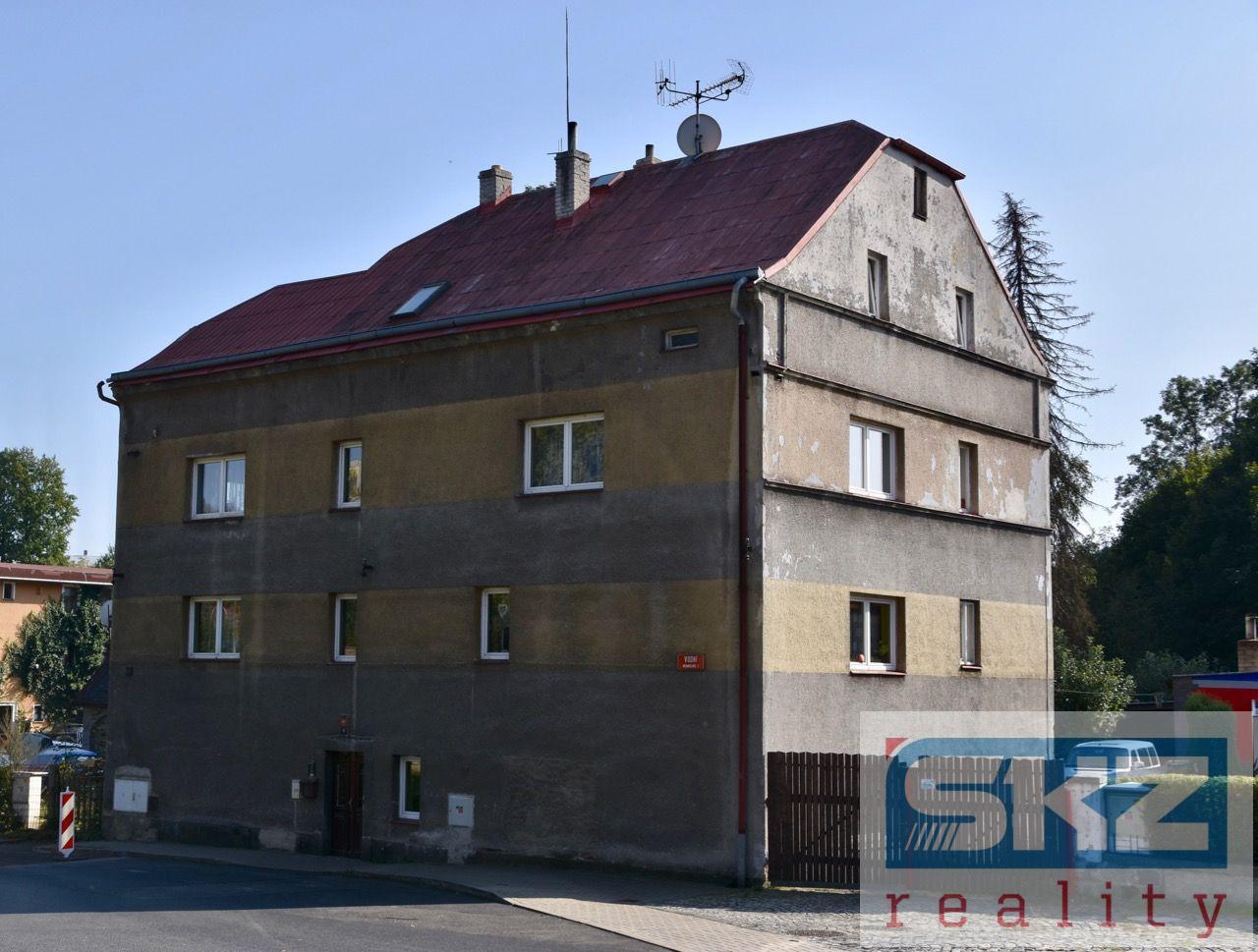 Bytový dům se 4 byty a zahradou v Rumburku, okr. Děčín