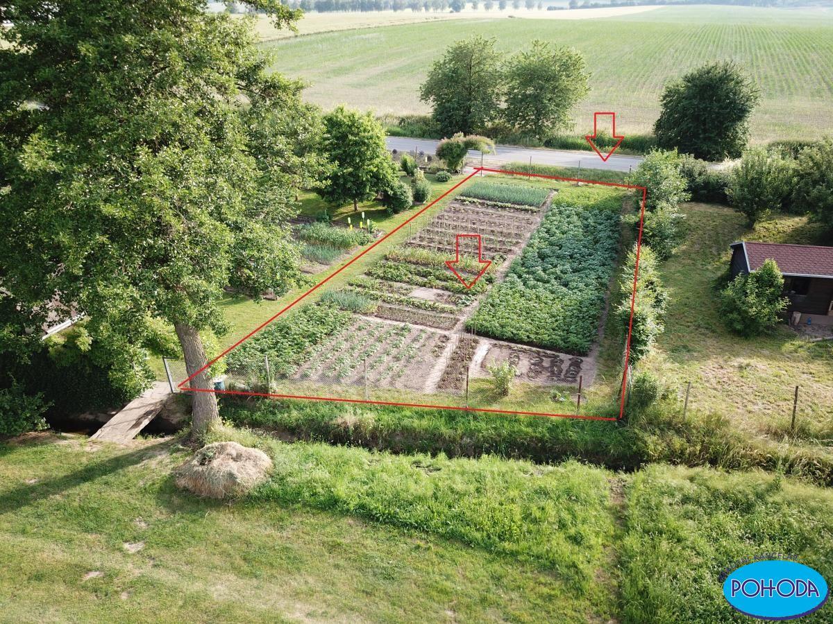 Zahrada  347 m2 v kolonie Peklovce - Vysoké Mýto