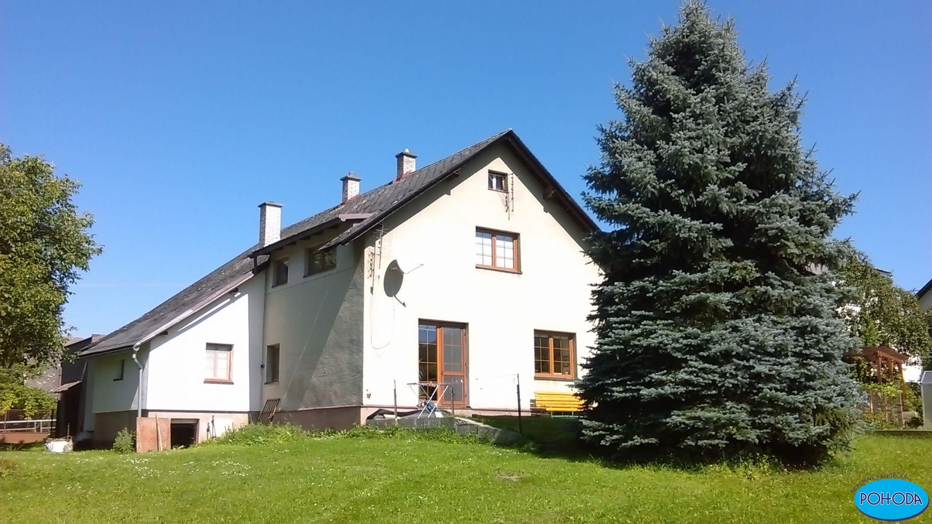 Pronájem bytu 2kk v rodinném domě v obci Jamné nad Orlicí