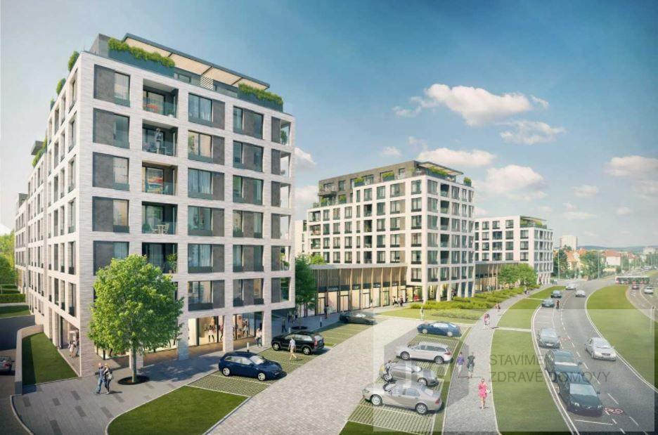 Pronájem komerčního prostoru 66 m2 v projektu Green Port Strašnice, Praha 10