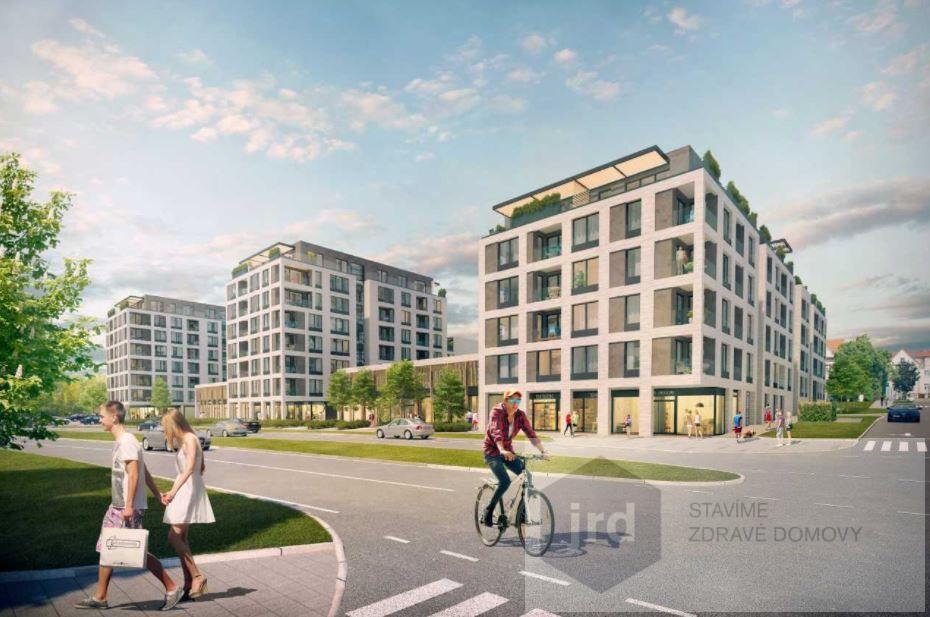 Pronájem komerčního prostoru 83 m2 v projektu Green Port Strašnice, Praha 10