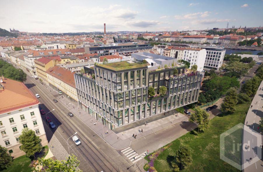 Kancelářské a obchodní prostory v novém projektu Viadukt Anděl, Praha 5