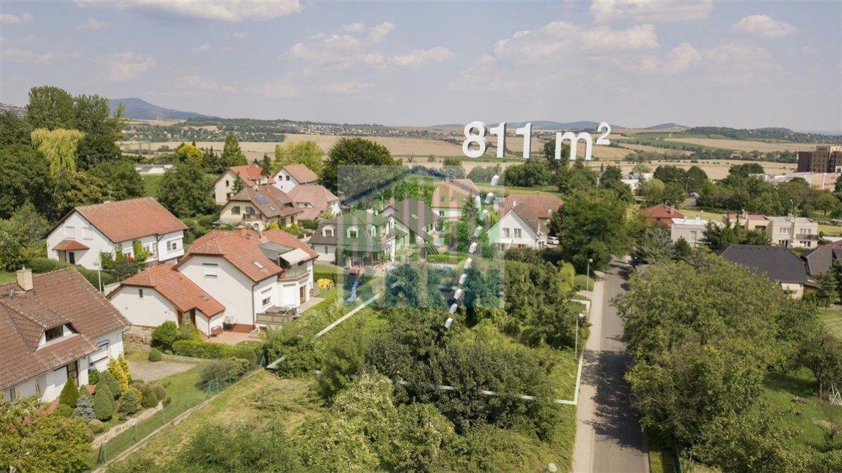 Prodej stavebního pozemku 811 m2, Litoměřice