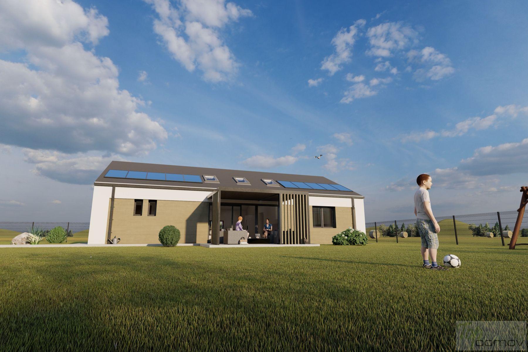 Prodej moderní novostavby 4+kk s fotovoltaickou elektrárnou