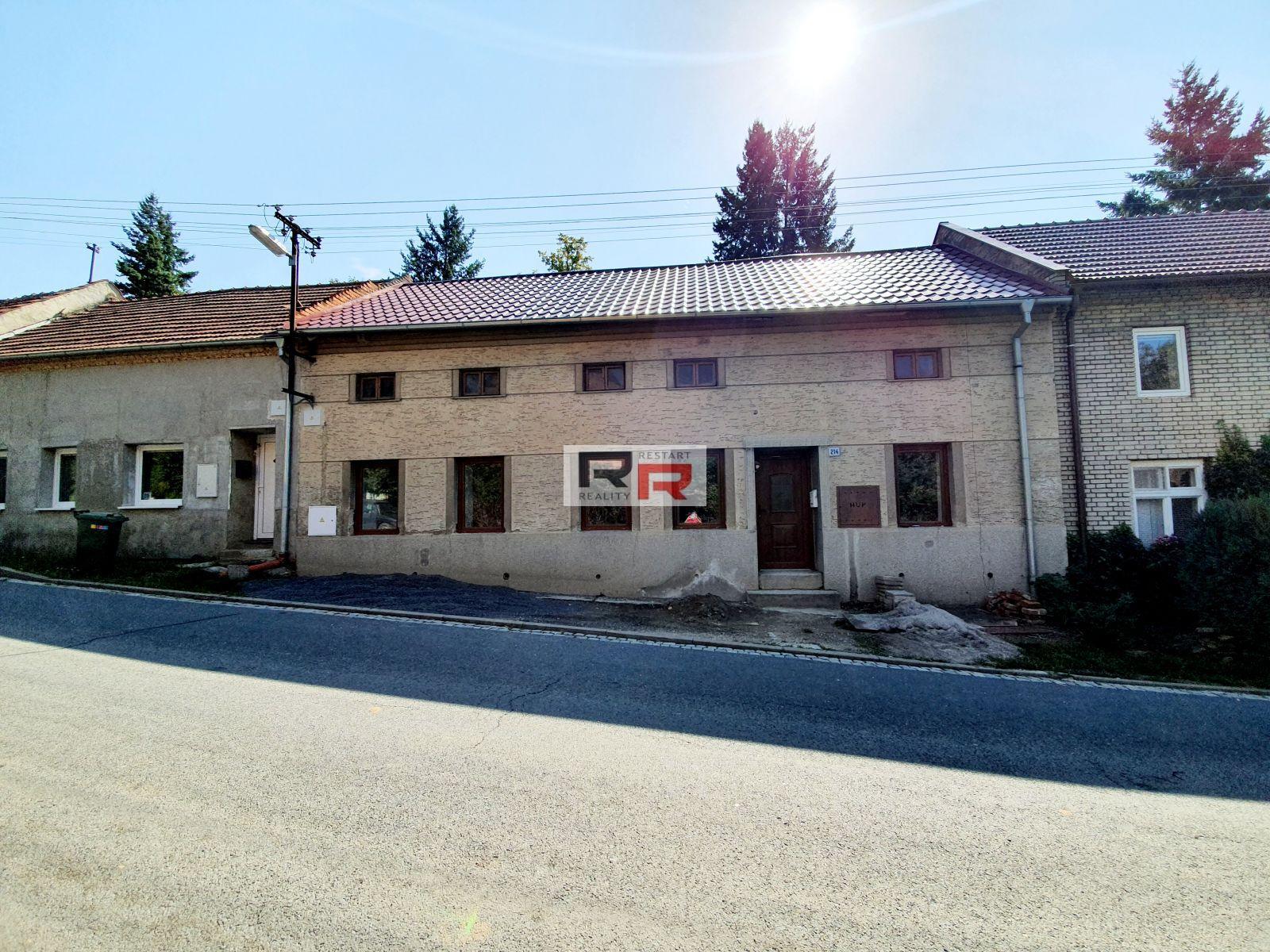 Pronájem RD 2+1 v obci Otaslavice, okr. Prostějov