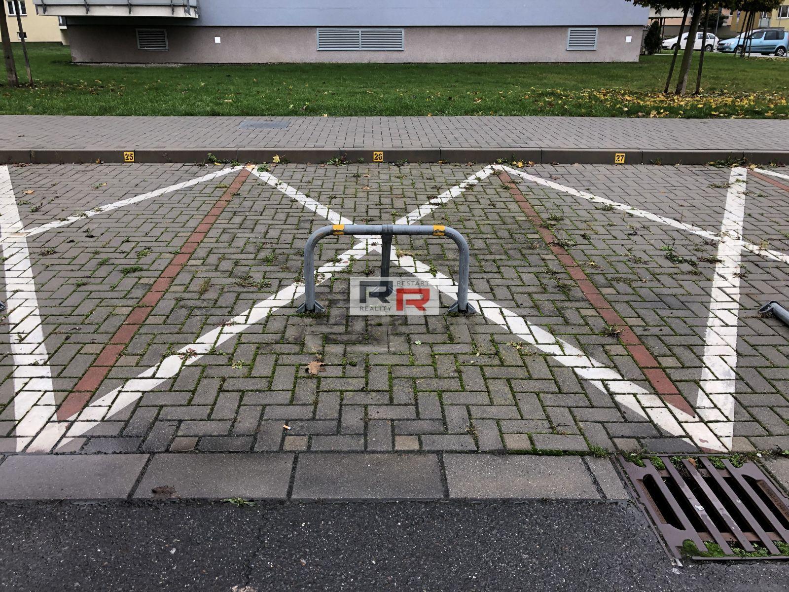 Pronájem parkovacího stání v Olomouci - ul. Peškova