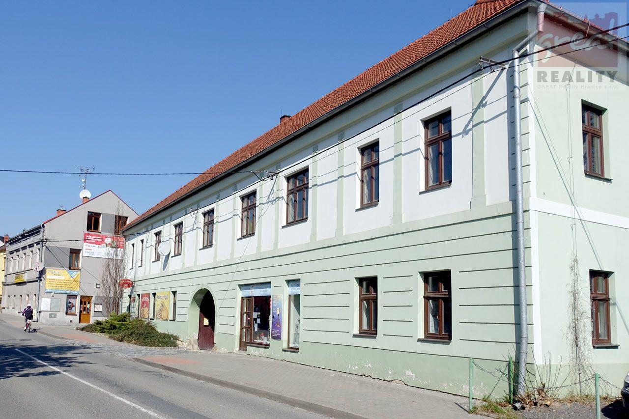 Pronájem komerčních prostor v Komenského ulici, Hranice.