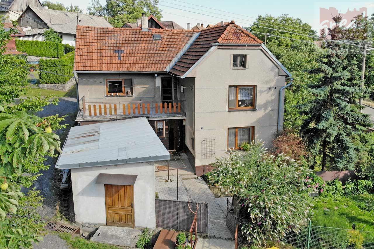 Prodej rodinného domu u lesa v obci Podhoří, okres Přerov