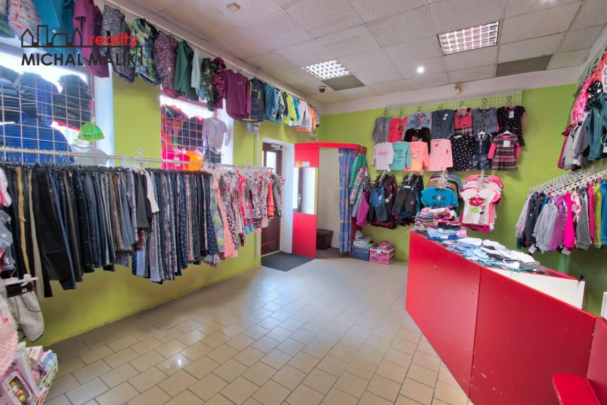 Prodej obchodních prostor, 65 m2, Komenského, Hranice