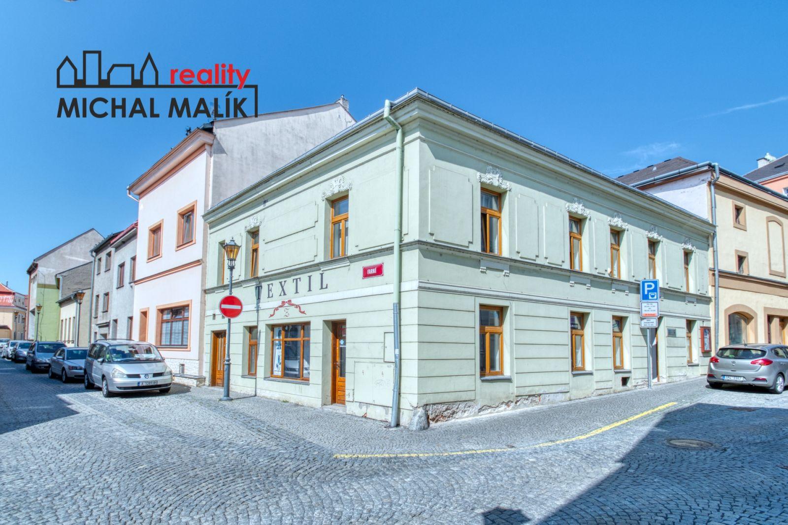 Pronájem obchodních prostor 95 m2, Svatoplukova ul., Hranice