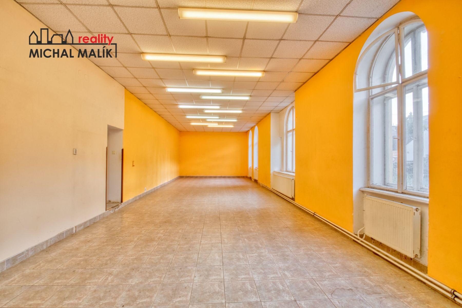 Pronájem nebytových prostor 193 m2, Komenského, Hranice