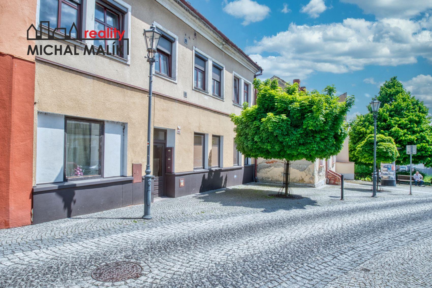 Prodej bytu 2+1 se zahradou, 50 m2, Svatoplukova, Hranice