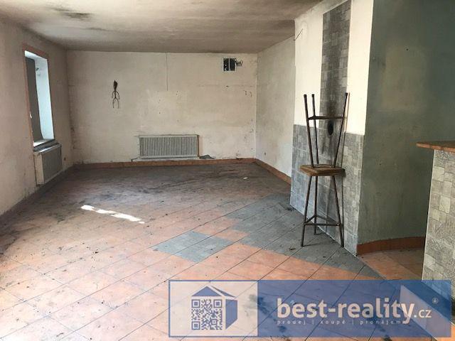 Prodej RD 6+2 se stodolou, garáží a původní restaurací, pozemek 1164m2