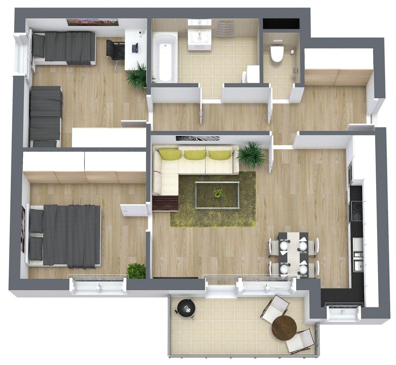 Prodej bytu 3+kk 76 m2, Praha Chrášťany