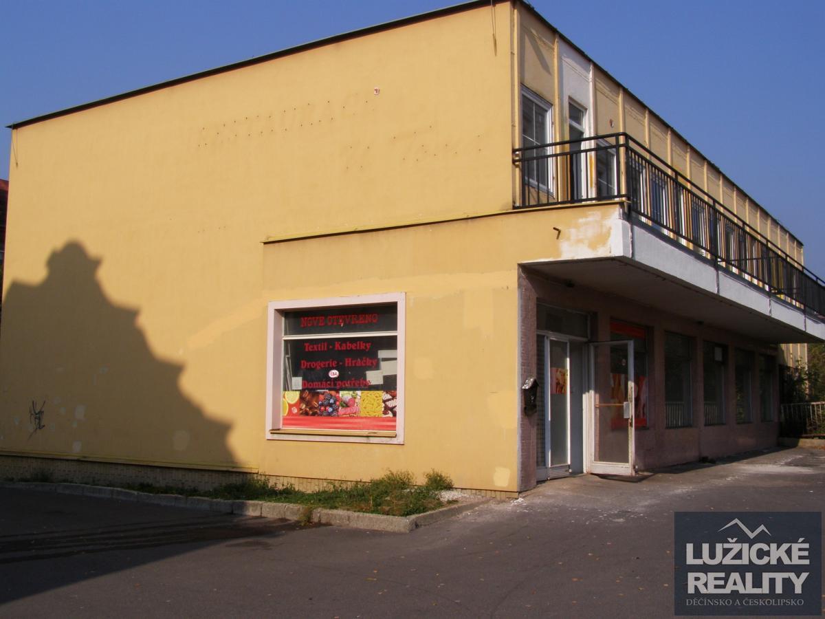 Prodej obchodních a bytových prostor, Česká Kamenice, okres Děčín