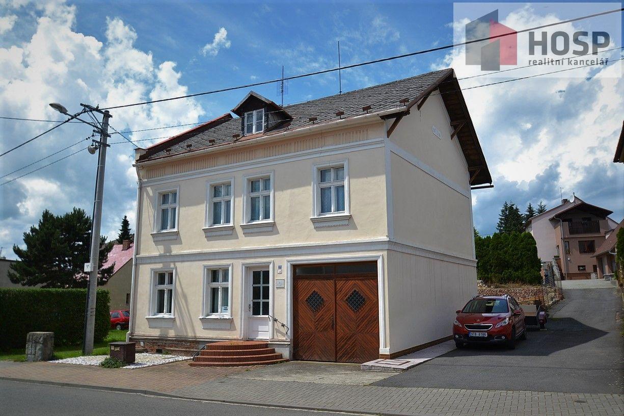 Dům k rekonstrukci v Kobeřicích.